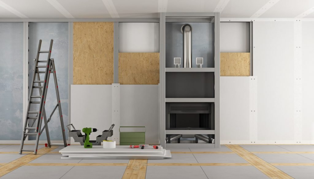 Empty wall ready for a renovation |Feature Image For 4 Renovation Tips to Boost Your House Sale Prices blog